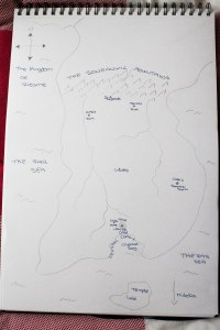 Map of Rifarne Draft 1