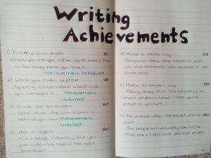 WritingAchievements 1