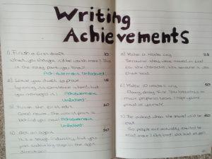WritingAchievements 1