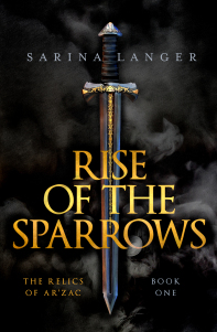 rise of the sparrows by Sarina Langer book cover