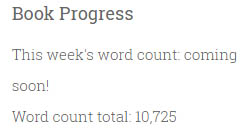 Book Progress Word Counts